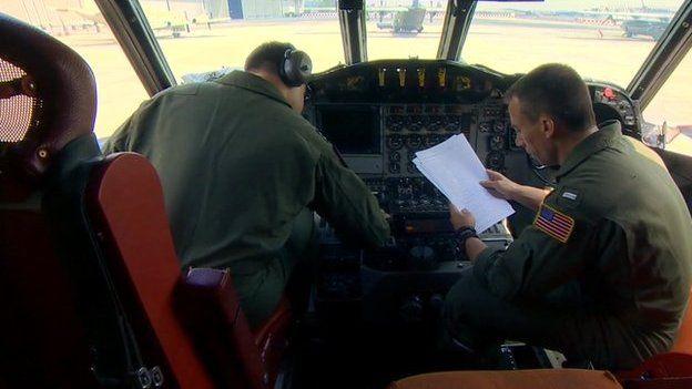 Cockpit of aircraft