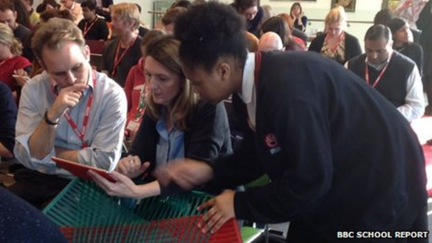 Hour of Code: Teenagers show the BBC how to code - BBC News
