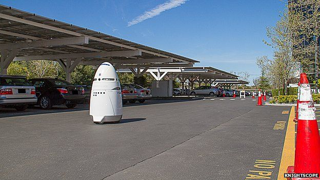Robot security guard from Knightscope