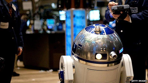 R2D2 at the New York Stock Exchange