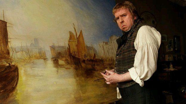 Timothy Spall yn dehongli bywyd yr artist athrylithgar JMW Turner