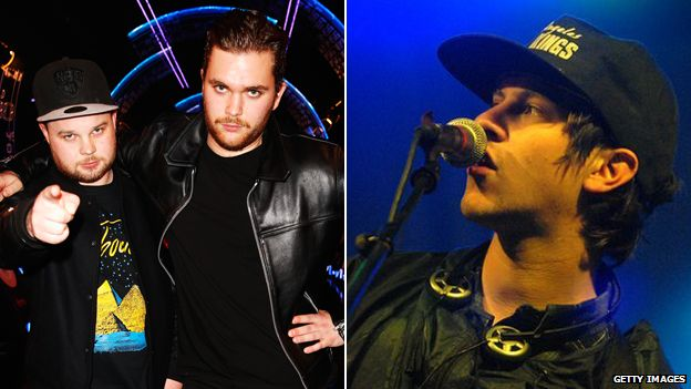 Royal Blood and Jamie T