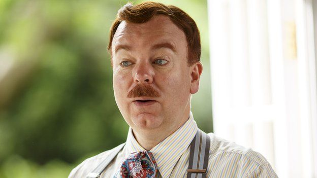 Steve Pemberton as Georgie in Mapp and Lucia