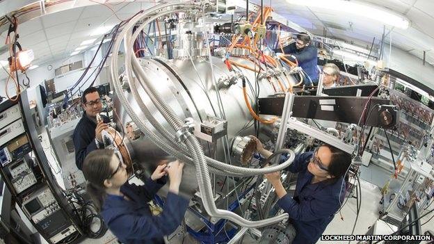 Lockheed Martin compact fusion reactor