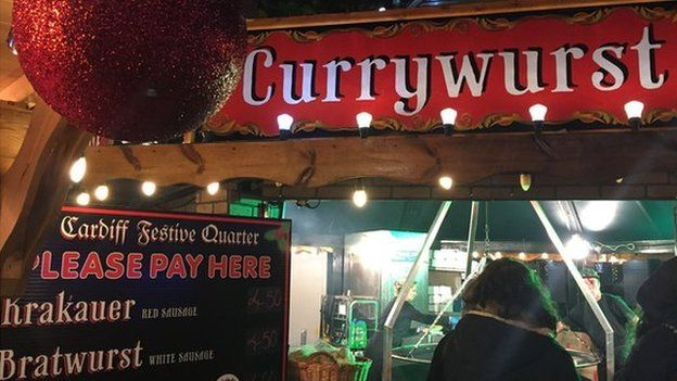 Currywurst sign