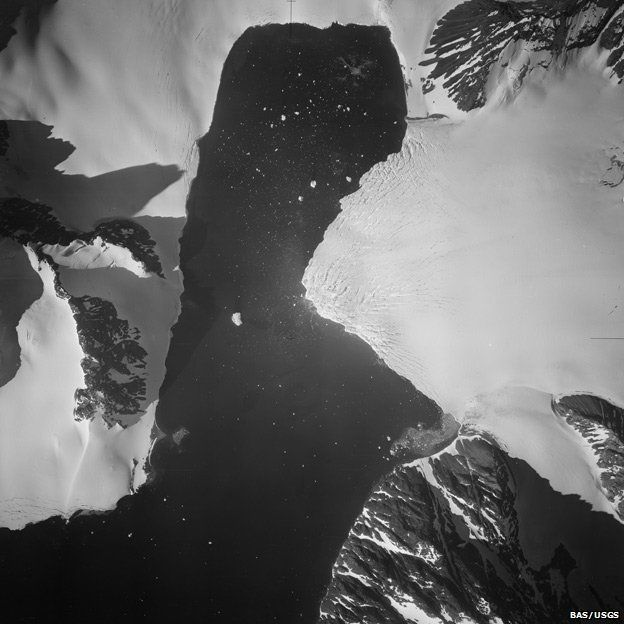 Antarctic photo science archive unlocked - BBC News