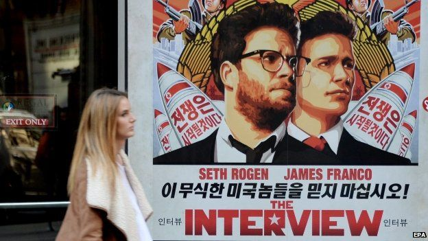 The Interview poster, New York, 18 December