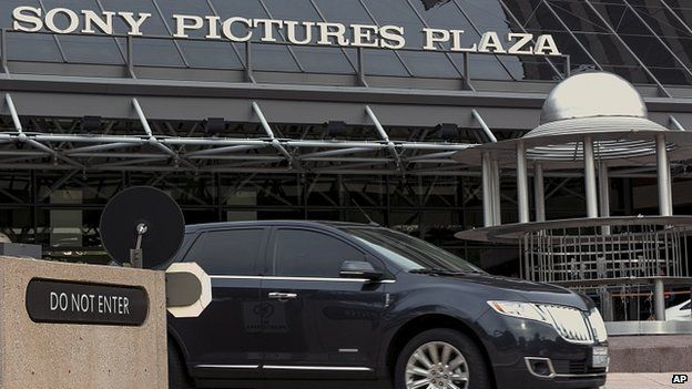 Sony Pictures Plaza building is seen in Culver City, California. 19 Dec 2014