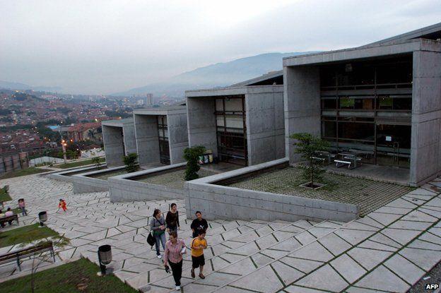 San Javier Library in Medellin