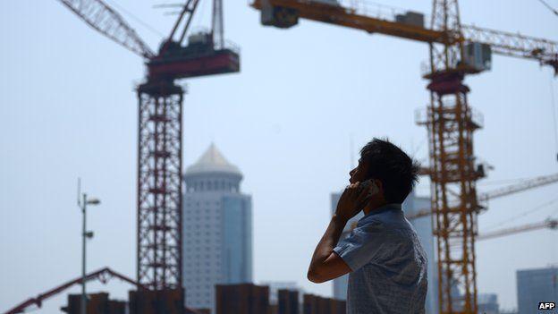 Construction site near Beijing
