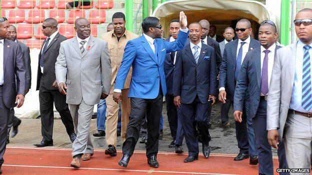 Equatorial Guinea's Teodorin Obiang