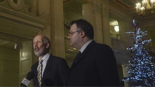 Ni Talks Broad Agreement Is Brokered On Some Key Issues Bbc News