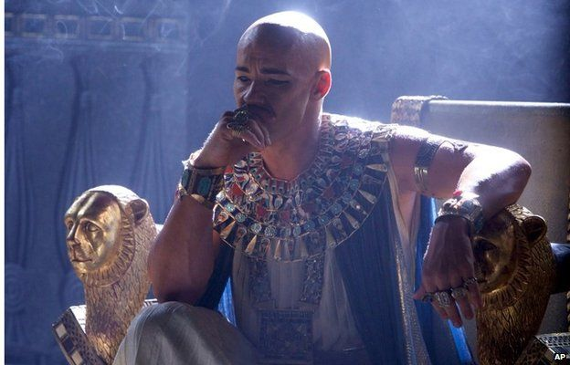 """This image released by 20th Century Fox shows Joel Edgerton in a scene from """"Exodus: Gods and Kings."""""""