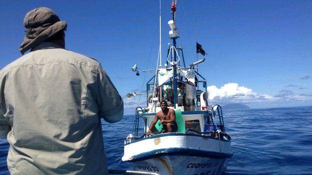 Patrol and fishing boat