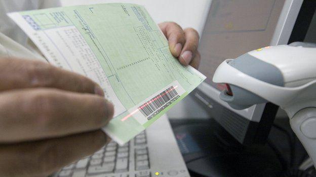 scanning a prescription