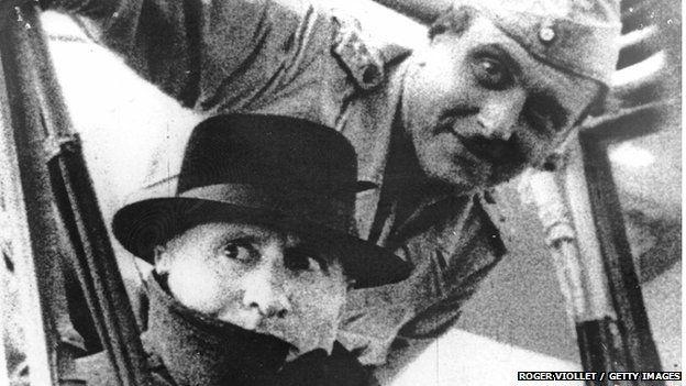Benito Mussolini and Otto Skorzeny in 1943