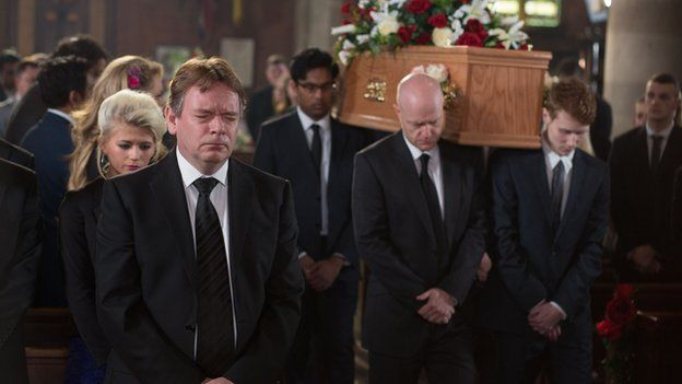 Lucy Beale's funeral