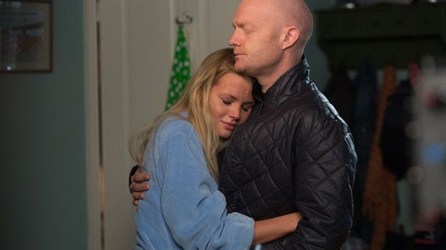 Lucy Beale and lover, Max Brannan