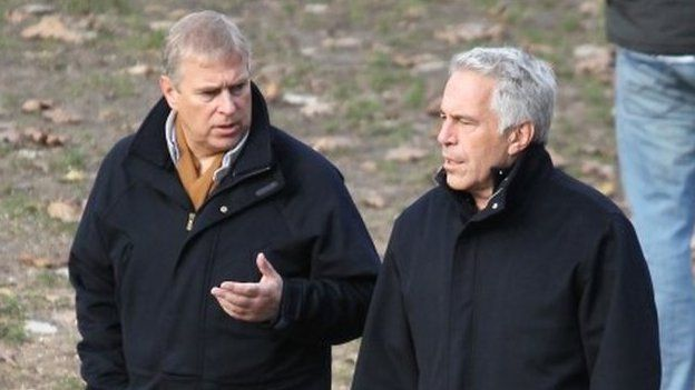 Prince Andrew and Jeffrey Epstein