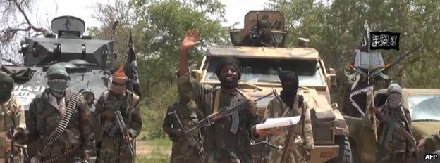 Bolo Haram fighters, 13 July 2013