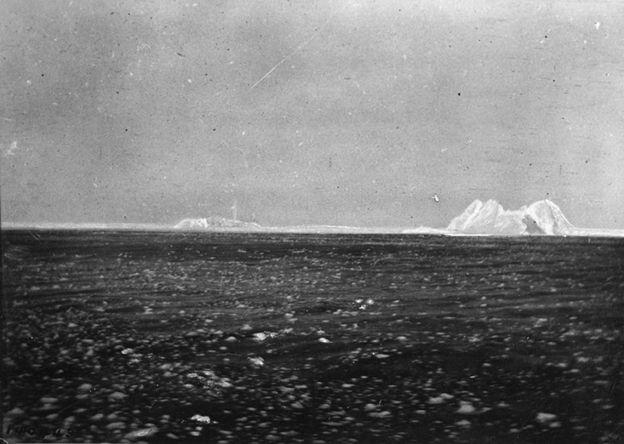 The iceberg that sank the Titanic
