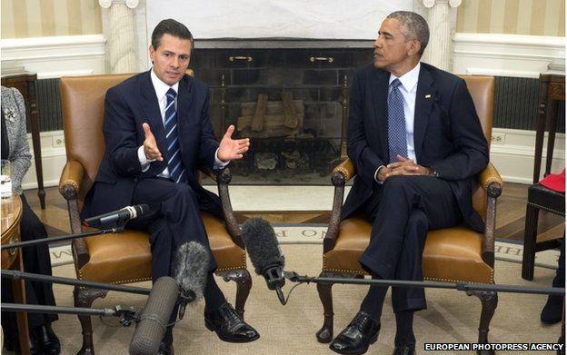 President Enrique Pena Nieto and President Barack Obama