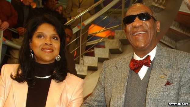 Phylicia Rashad and Bill Cosby in 2002