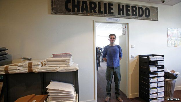 Charlie Hebdo offices, file pic
