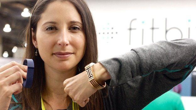 Lindsay Cook, Fitbit's marketing director