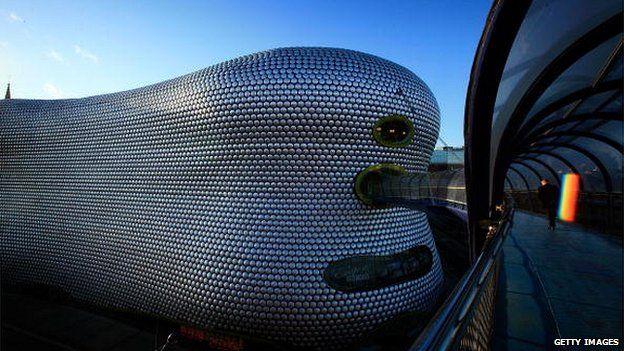 Bullring shopping centre, Birmingham