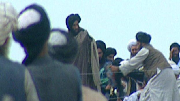 The Afghan Taliban leader, Mullah Omar