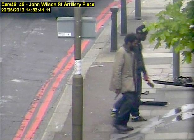 CCTV footage of Michael Adebolajo and Michael Adebowale, the killers of Lee Rigby