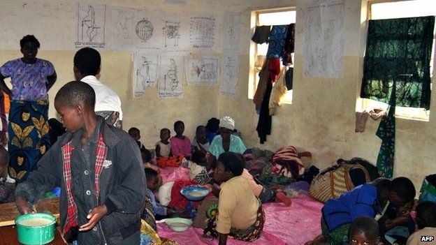 Malawians displaced by floods