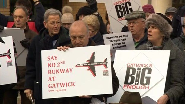 Gatwick protest