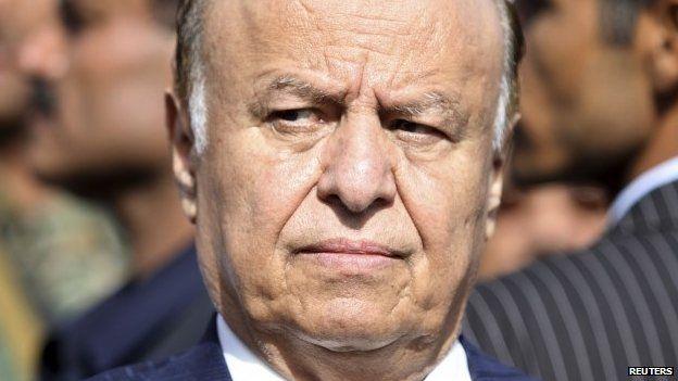 Yemeni President Abdrabbuh Mansour Hadi (file pic)