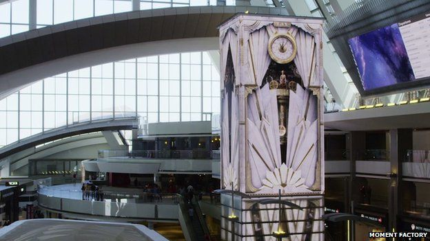 Time Tower at LAX Tom Bradley terminal
