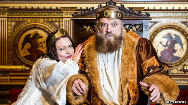Rosalind and Brian Blessed