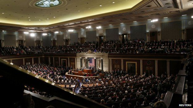 President Barack Obama delivers his State of the Union address to a joint session of the US Congress