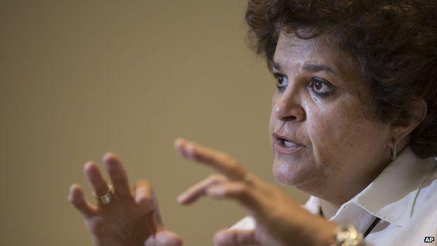 Izabella Teixeira, Brazil's Environment Minister, 5 Nov 2014