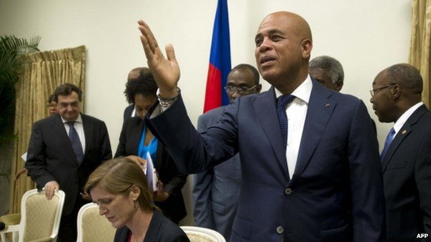 Haitian President Michel Martelly. Photo: 23 January 2015