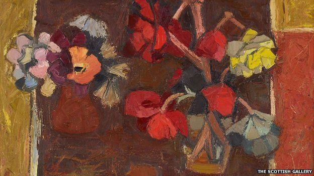 Begonias by Denis Peploe