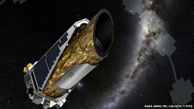 Artist's impression of Kepler telescope