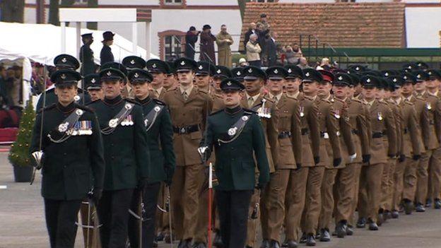 British army site