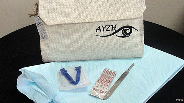 Ayzh's clean birth kit