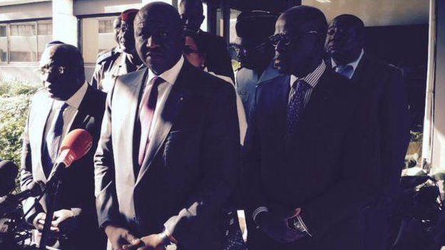 Ivorian Interior Minister Hamed Bakayoko