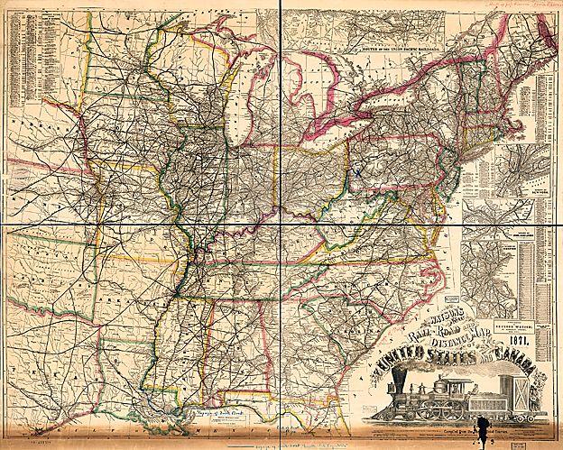 US railways 1871