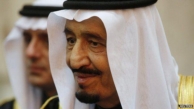 King Salman of Saudi Arabia. 27 Jan 2015