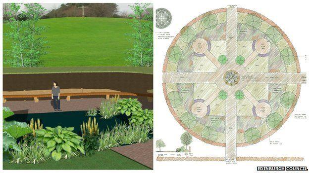 Mortonhall memorial designs