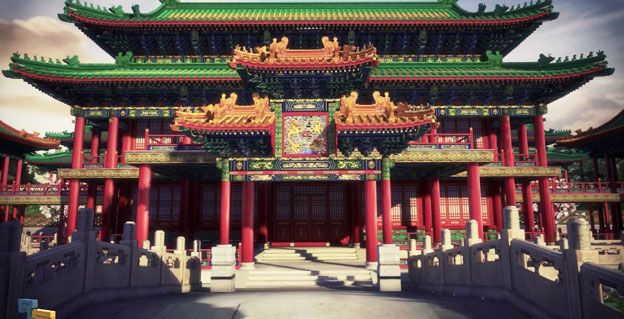 Computer reconstruction of Old Summer Palace