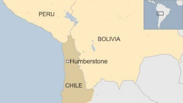 Humberstone: A Chilean ghost town\'s English past - BBC News